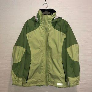 LLBean Raincoat with removable fleece shell